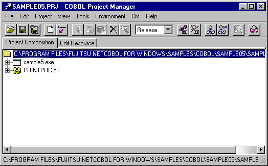 1 2 1 Using COBOL Project Manager